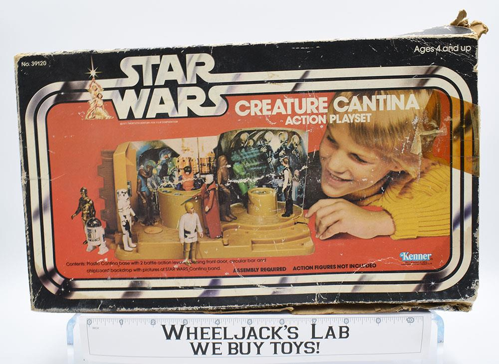 Vintage Star Wars Creature Cantina Playset Turntable Parts Kenner 1979