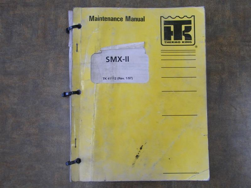 Thermo King smx user Manual