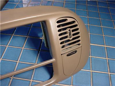 97 03 Expedition Navigator F150 Dash Radio Trim Bezel 4x4 Switch Dark Brown