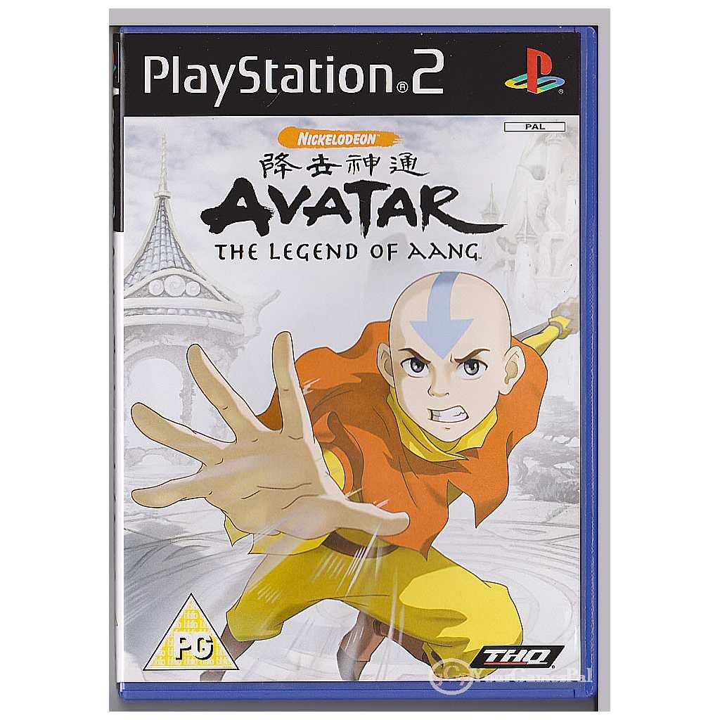 Avatar The Legend Of Aang PS2 PAL Sony PlayStation 2 LN