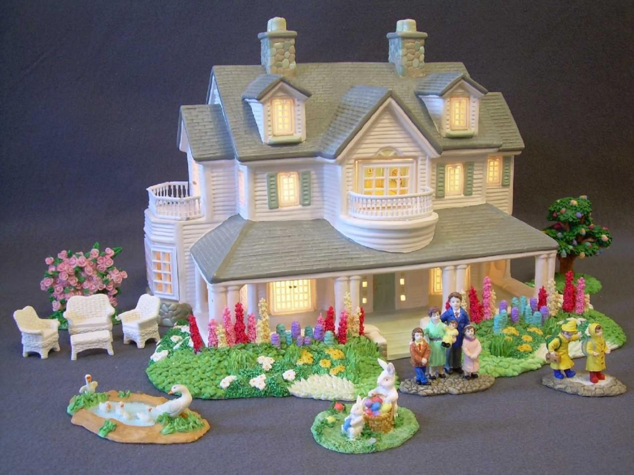 lights village house - photo #26