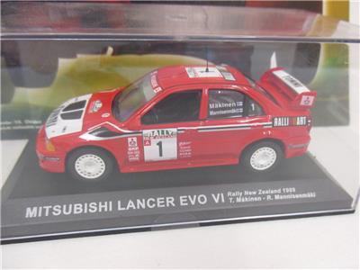 Deagostini Rally Car Collection Mitsubishi Lancer Evo Vi 7