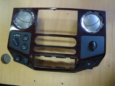 08 Ford F250 F350 Super Duty Heater Climate Control Radio Dash Bezel Trim