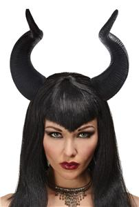 Adult Queen Ficent Horns Headpiece Maleficent Costume Accessory Mr158086 Ebay