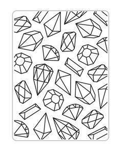 CRACKLE Background 4.25x5.75 Darice Embossing Folder 1218-57