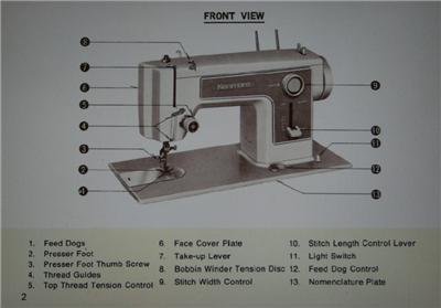 kenmore sewing machine 38515218400 manual