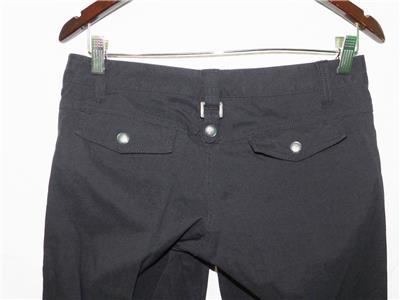 Athleta Dipper 2 Black Hiking Outdoor Pants 6 Euc Cg Novel Design; In