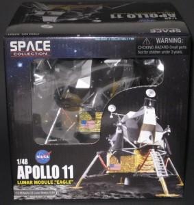 """DRAGON WINGS APOLLO 11 Lunar Module """"Eagle"""" 1/48 scale ..."""