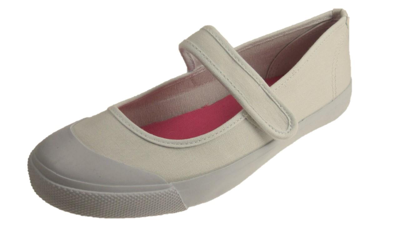 T Bar Canvas Shoes Womens