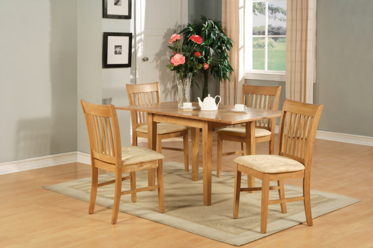 7pc Rectangular Kitchen Dinette Set Table Amp 6 Chairs Ebay