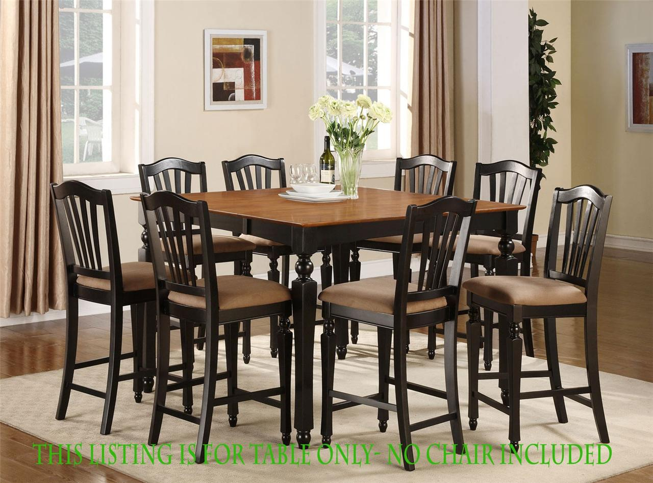 Square Counter Height Dining Table Only 54 Quot X54 Quot With
