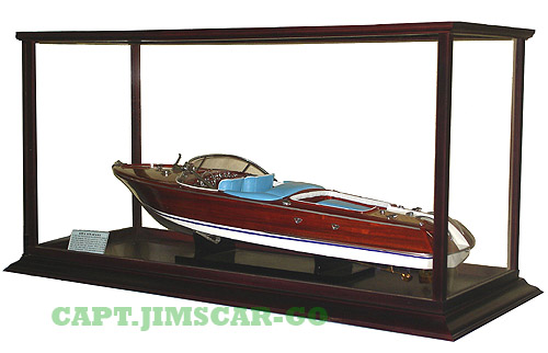 Model Ship Boat Display Cases Table