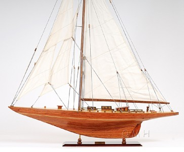 Wooden Scale Models Americas Cup Yacht Sailboats