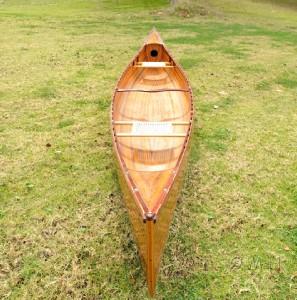 CEDAR STRIP GRANDE CANOE WOODEN BOAT