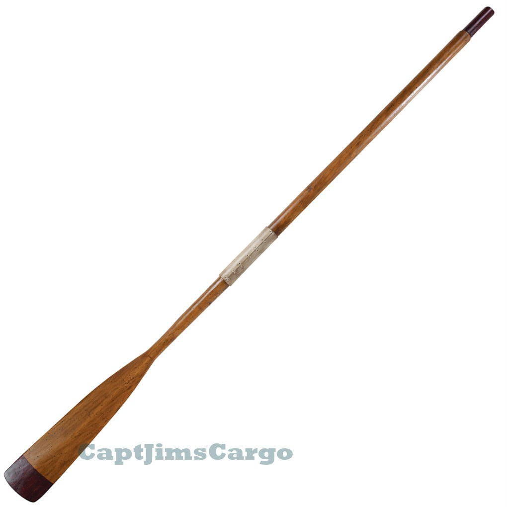 Decorative Lifeboat Oar 73 Quot Brown Wooden Rowing Row Boat