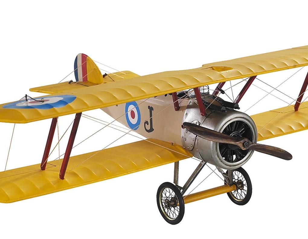 Desk Top WWI Sopwith Camel Biplane Wood Model Plane 10 ...