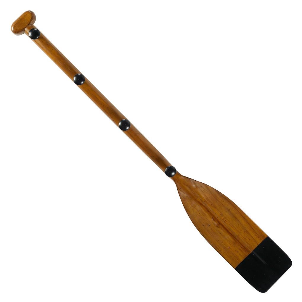 Kids Oar Coat Rack Hook Black 47 Quot Wooden Paddle Wall Decor