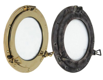 Ship's Porthole Windows & Mirrors Nautical Decor