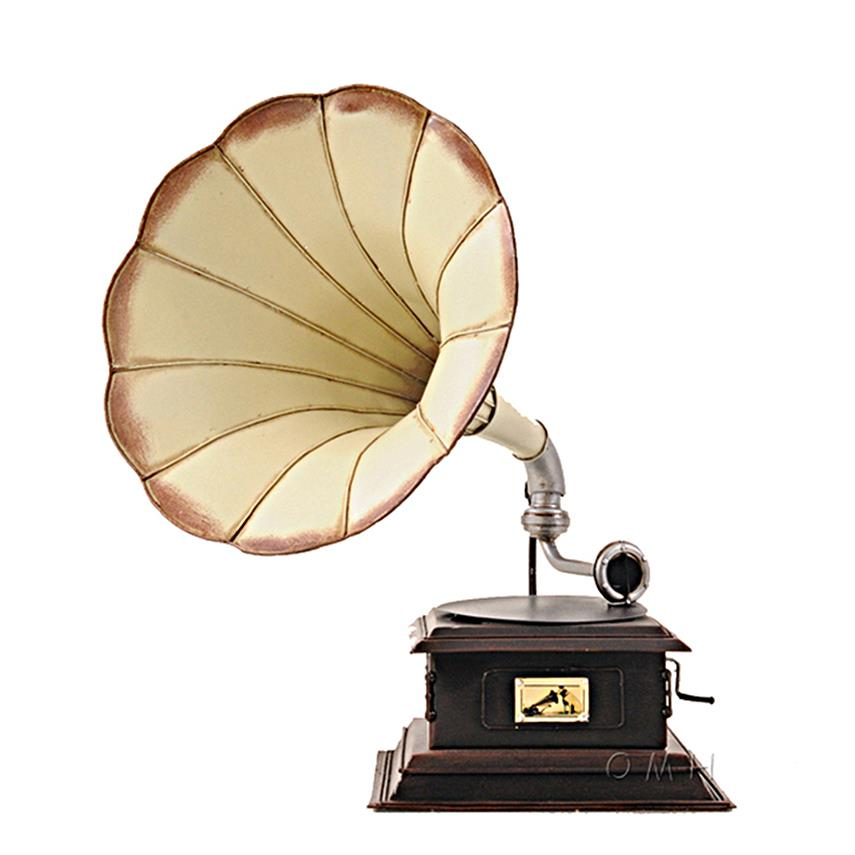 "Gramophone Monarch Company Metal Model V 15.5"" Decorative ..."
