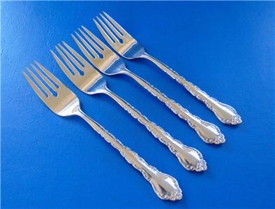 Cuisinart GEO Dinner Fork Lot 4 Stainless Forks