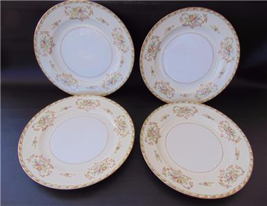 This listing is for 4 Dinner Plates in the Corina pattern by Imperial China of Japan. Diameter is approximately 9 7/8 inches and the plates are marked ... & Imperial CORINA 4 Dinner Plates Japan | eBay