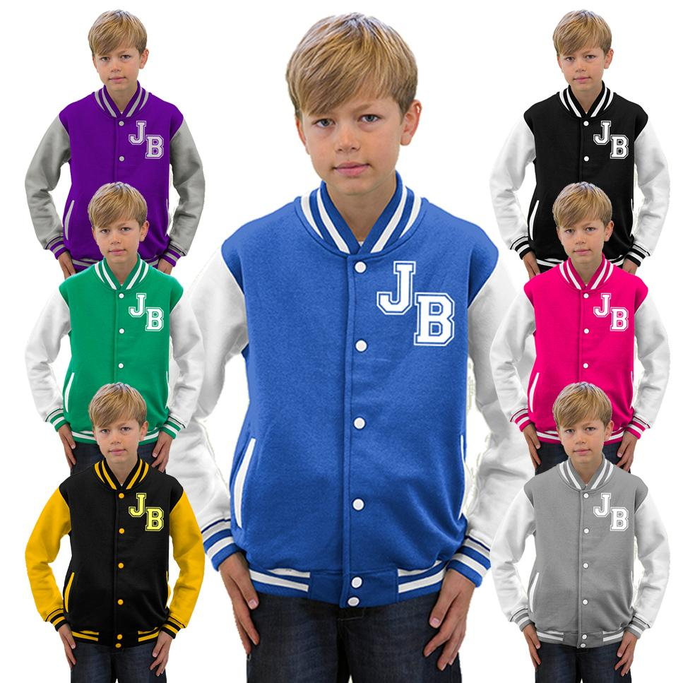 IN-STOCK VARSITY JACKETS Cart WE MAKE JACKETS FOR KIDS TOO Order your jacket plain or with custom lettering and patches Featuring the finest wools and vinyl sleeves (not leather) All of our jackets are unisex athletic cut for both boys and girls.