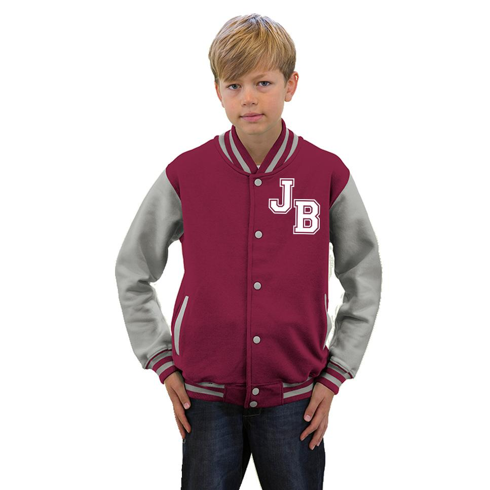 Design custom made varsity jackets online. Free shipping, bulk discounts and no minimums or setups for custom made varsity outerwear. Free design templates. .