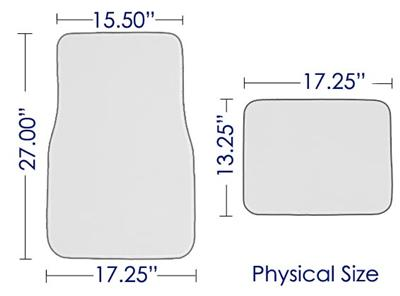 seat cover size