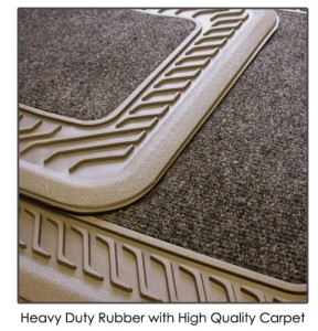 rubber car carpet
