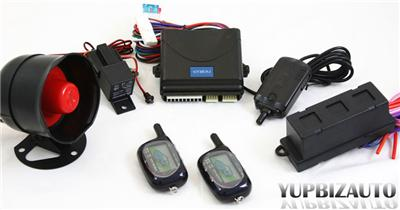 Car Security Alarm System parts