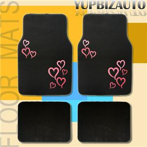 heart design car seat protector