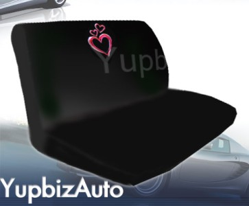 Heart design seat cover