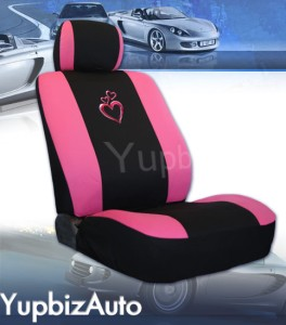 Heart Design Car Seat Cover