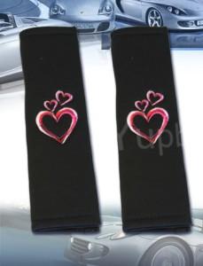 Heart Design Car Seat Cover