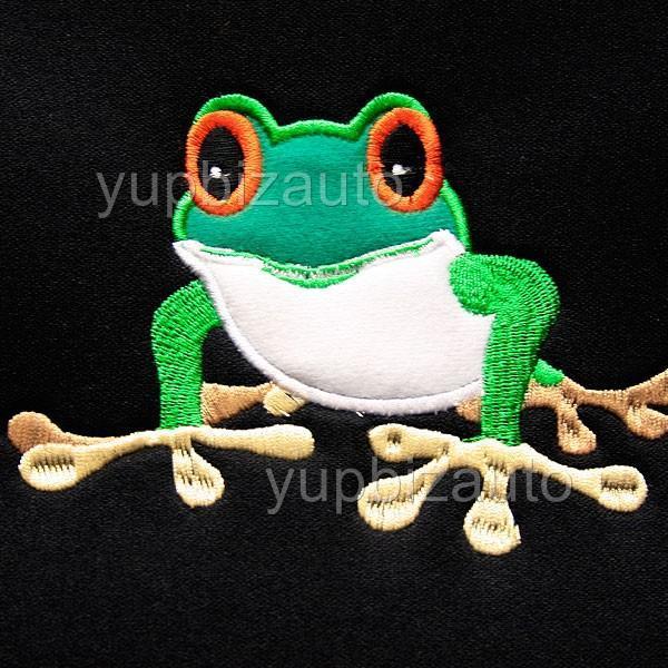 mat frog design