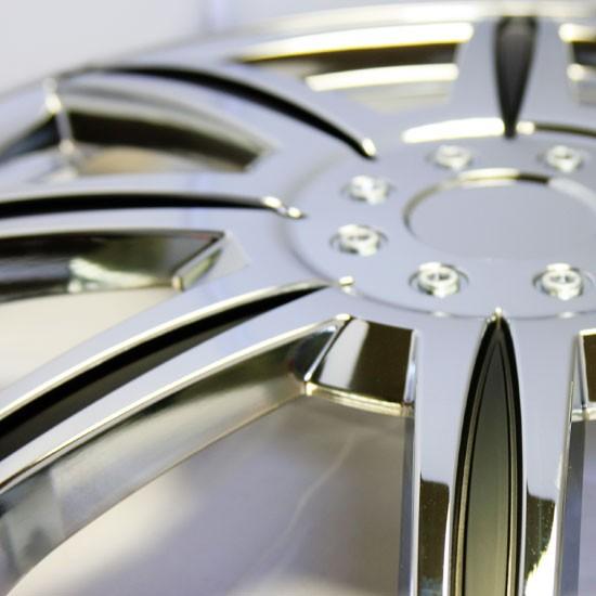 Chrome Rim Wheel Covers