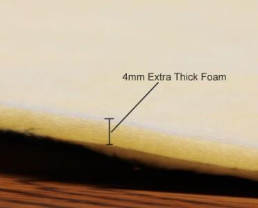 thick foam