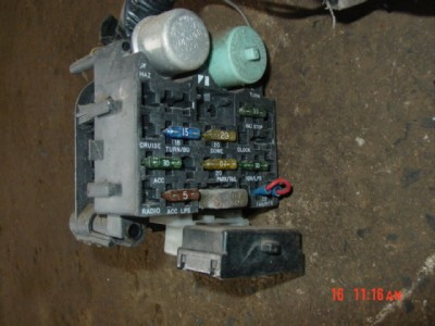 87 jeep wrangler wiring harness under dash fuse block | ebay 92 wrangler fuse block diagram 92 f150 fuse box diagram