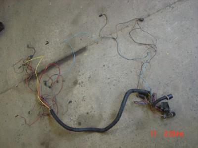 Jeep Cherokee Wagoneer J10 J20 360 401 Engine Wiring Harness ... on