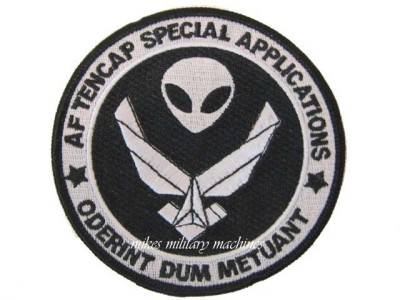 Air Force Area 51 Tencap Special Applications Reconnaissance