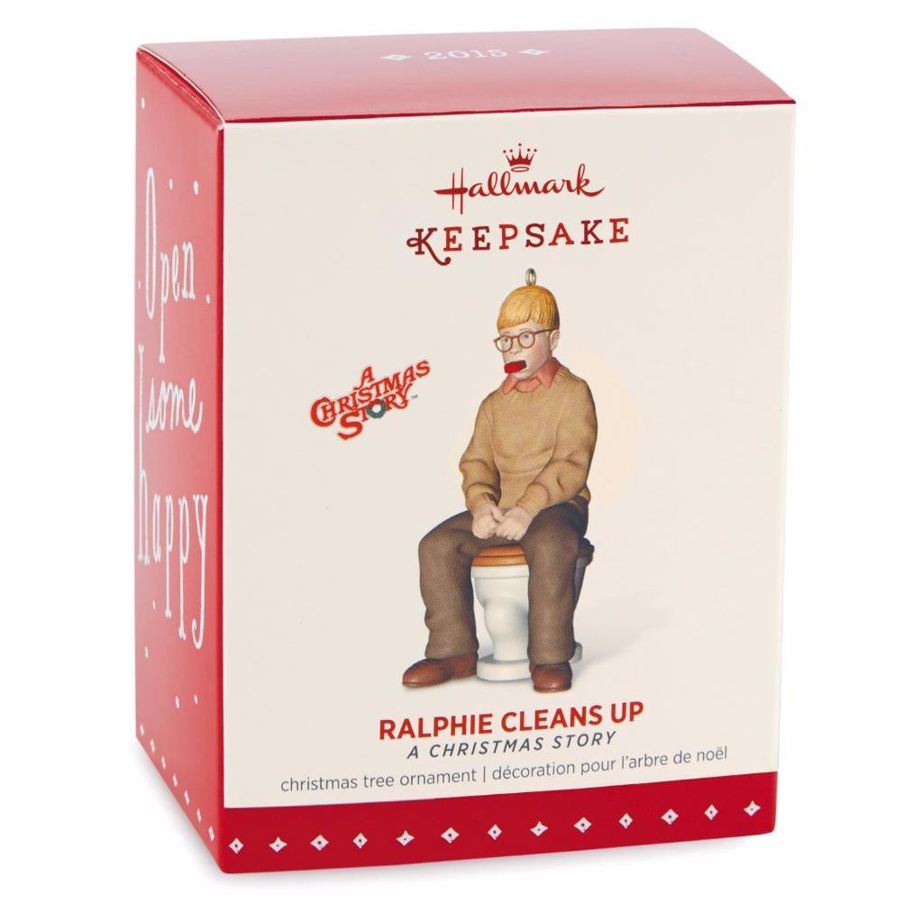 A Christmas Story Gift: Hallmark Keepsake, A Christmas Story Movie, Ralphie Cleans