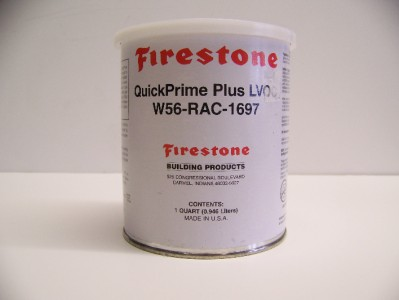 firestone quickprime plus seam primer cleaner 1 qt for. Black Bedroom Furniture Sets. Home Design Ideas