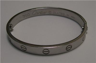 41b2d18d3acb0 White Gold Bracelets: Cartier Bracelet Ol4783
