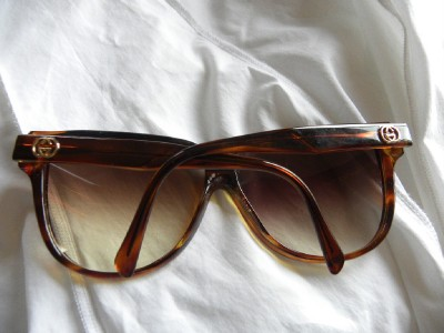 28947f9285e AMAZING HUGE 80S VINTAGE GUCCI SUNGLASSES GG 2128 on PopScreen