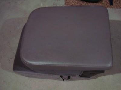 02 06 dodge ram 1500 2500 jump seat lid center console taupe mint condition ebay. Black Bedroom Furniture Sets. Home Design Ideas