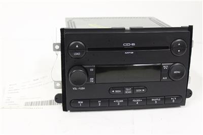 2006 2009 ford fusion radio stereo 6 disc changer mp3 cd. Black Bedroom Furniture Sets. Home Design Ideas