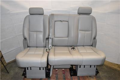 Superb Details About 2007 2014 Tahoe Yukon Escalade 2Nd Row Bench Seat Leather Camellatalisay Diy Chair Ideas Camellatalisaycom