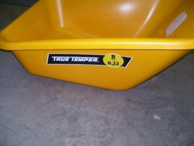Ames Bp8 True Temper Poly Wheelbarrow 8