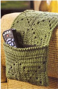 Remote Holder Coaster Set Tissue Cover Crochet Pattern