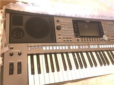 yamaha psr s970 61 key arranger keyboard workstation 86792997537 ebay. Black Bedroom Furniture Sets. Home Design Ideas